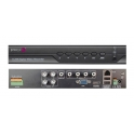 4838753 DVR AHD IBRIDO 4 Ingressi Video 1080p, RealTime, Allarmi in Out