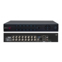4838760 DVR AHD IBRIDO, 8 Ingressi Video, Risoluzione 1080n 12fps, Ingressi Multistandard